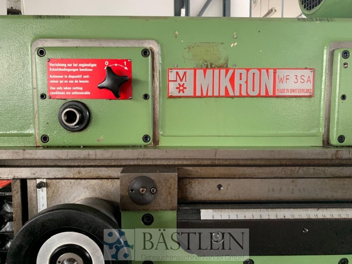Обрабатывающий центр - универсальный MIKRON WF3SA фото на Industry-Pilot