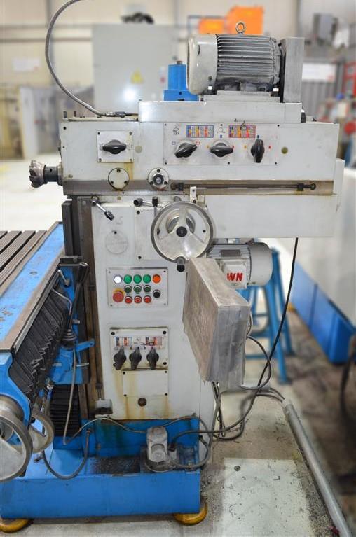 Инструментальный фрезерный станок - универс. WAGNER FCA500 фото на Industry-Pilot