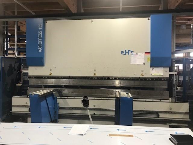 Листогибочный пресс - гидравлический EHT Variopress 135-4 фото на Industry-Pilot