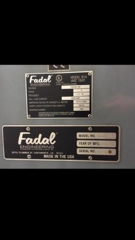 Обрабатывающий центр - вертикальный FADAL VMC15 фото на Industry-Pilot