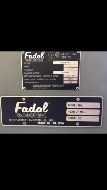 Обрабатывающий центр - вертикальный FADAL VMC 15 CNC фото на Industry-Pilot