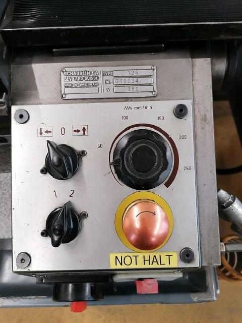 Токарно-винторезный станок SCHAUBLIN 125 B фото на Industry-Pilot