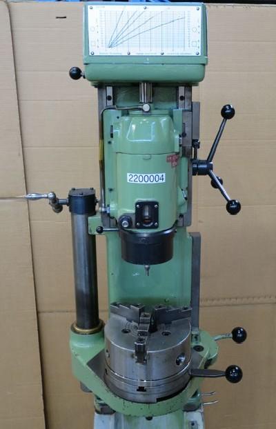 Вертикально-сверлильный станок со стойкой SMM VKB-4/6 фото на Industry-Pilot