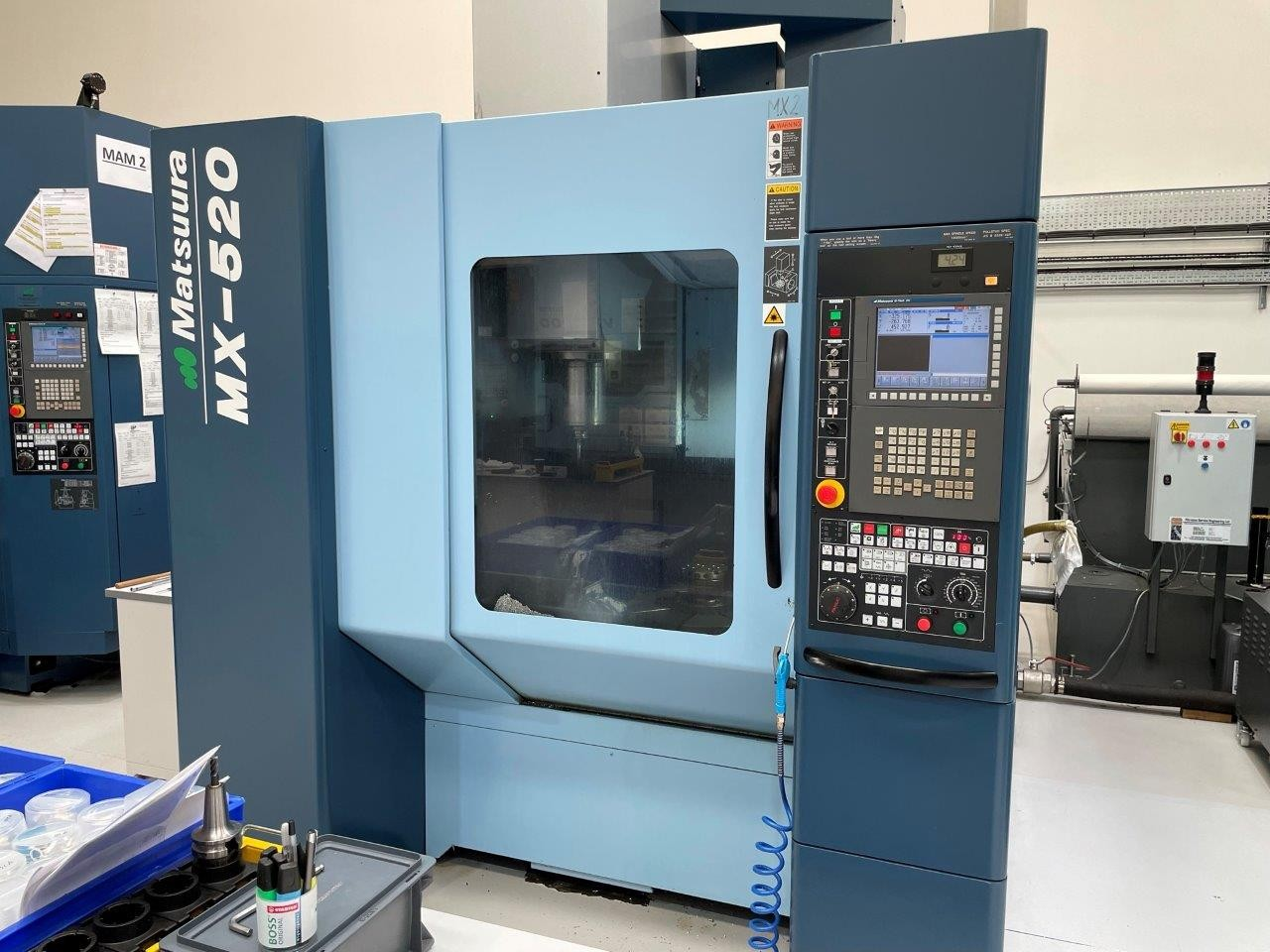 Обрабатывающий центр - универсальный MATSUURA MX-520 фото на Industry-Pilot