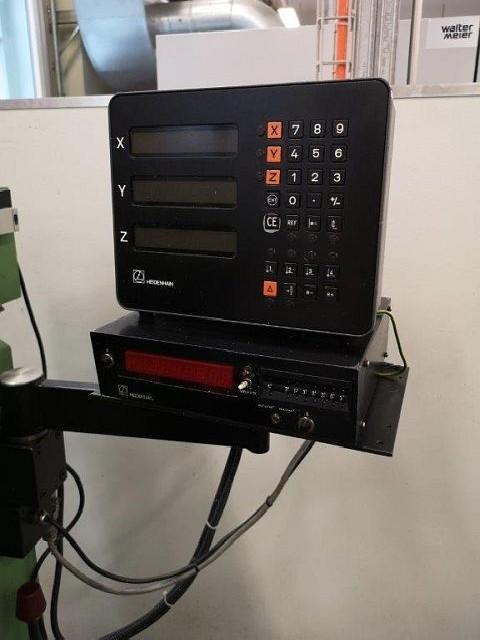 Фрезерный станок вертикальный ACIERA F5 фото на Industry-Pilot