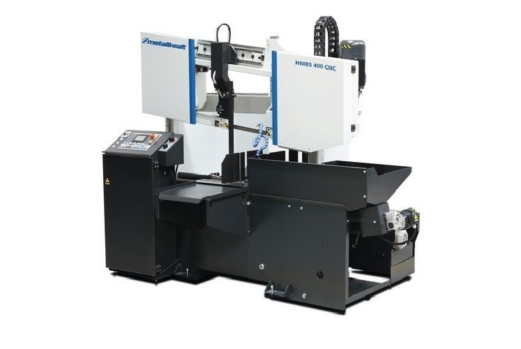 Ленточнопильный автомат - гориз. METALLKRAFT HMBS 400 CNC фото на Industry-Pilot
