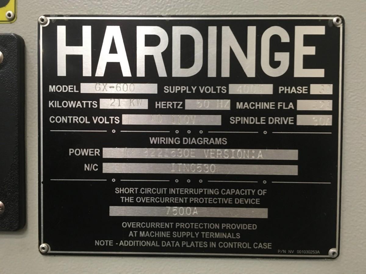 Обрабатывающий центр - вертикальный HARDINGE-BRIDGEPORT GX 600 фото на Industry-Pilot
