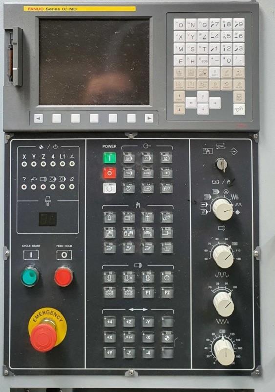 Обрабатывающий центр - вертикальный ACCUWAY UM 110 фото на Industry-Pilot