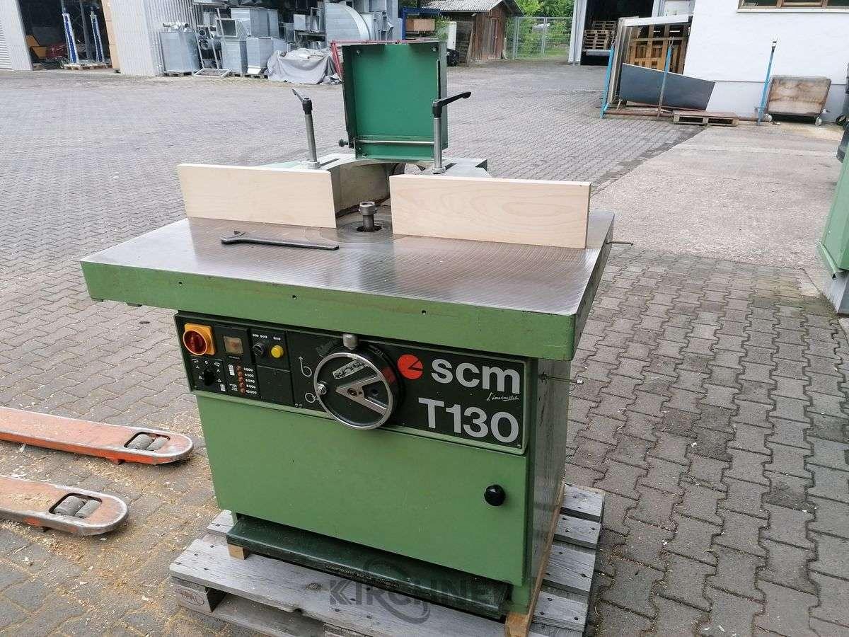 Фрезерный станок с вертикальным шпинделем Tischfräsmaschine starr SCM T 130 N фото на Industry-Pilot