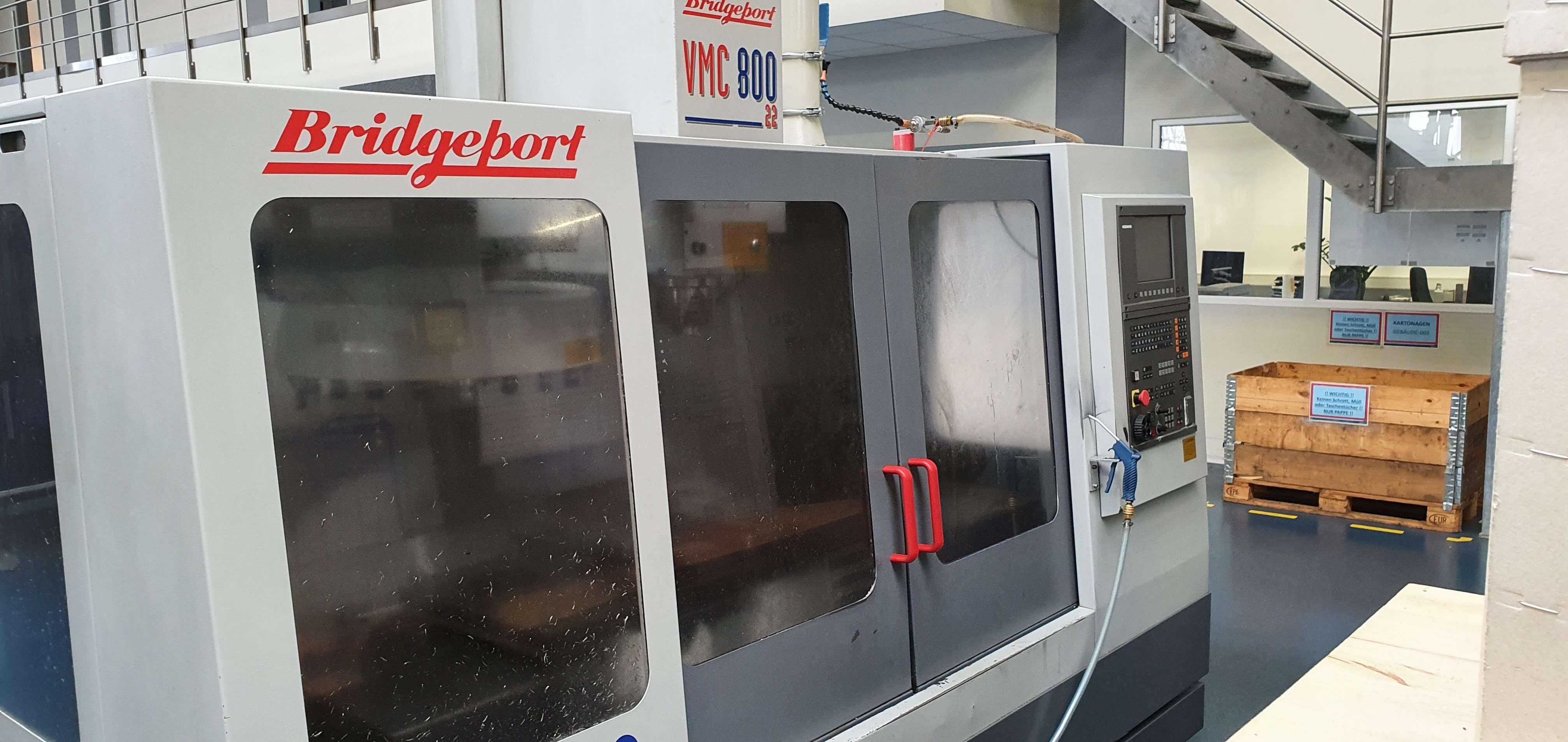 Обрабатывающий центр - вертикальный Bridgeport VMC 800 фото на Industry-Pilot