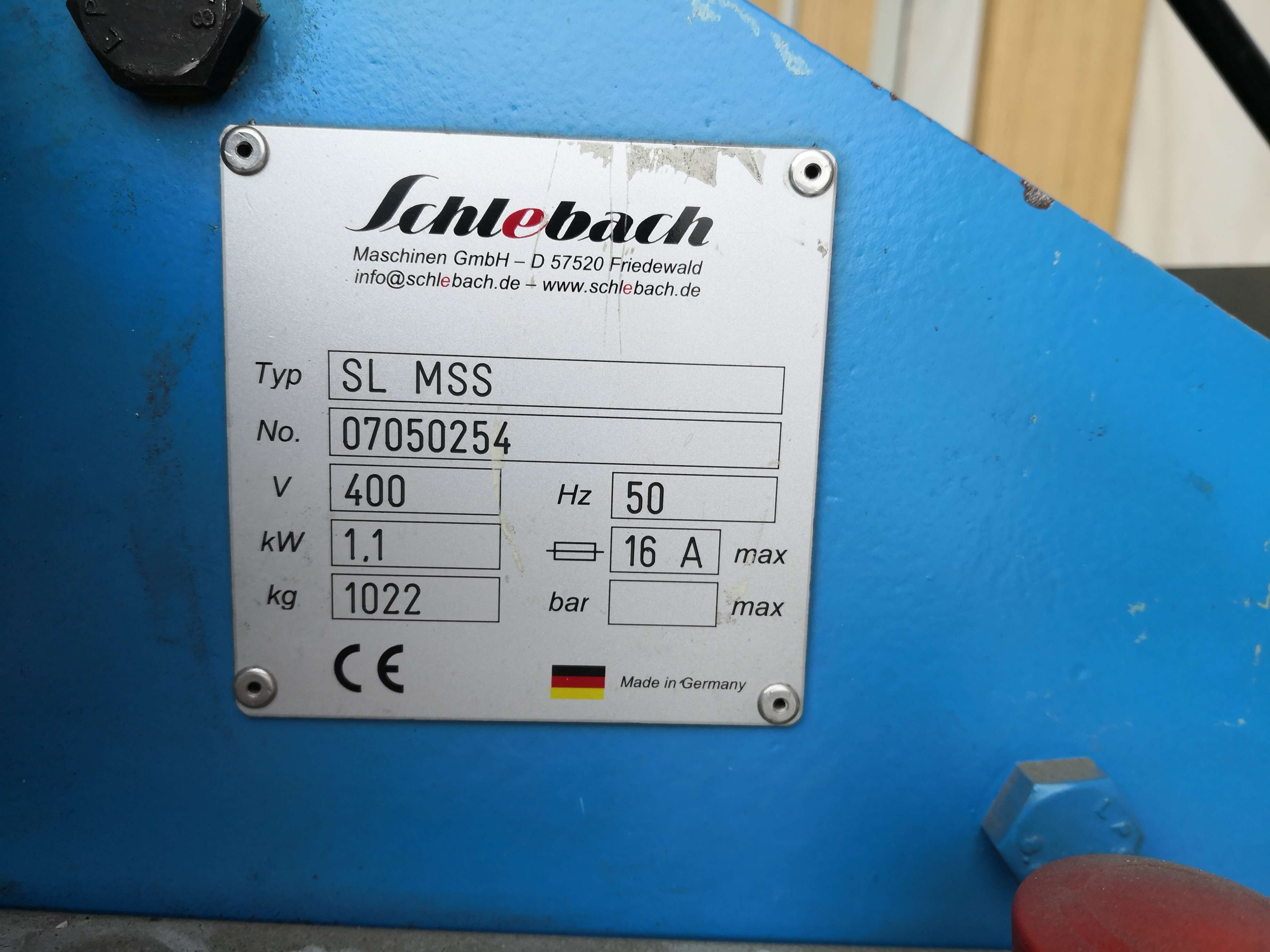 Cut-to-Length and Slitting Line Schlebach SLMSS1250 фото на Industry-Pilot