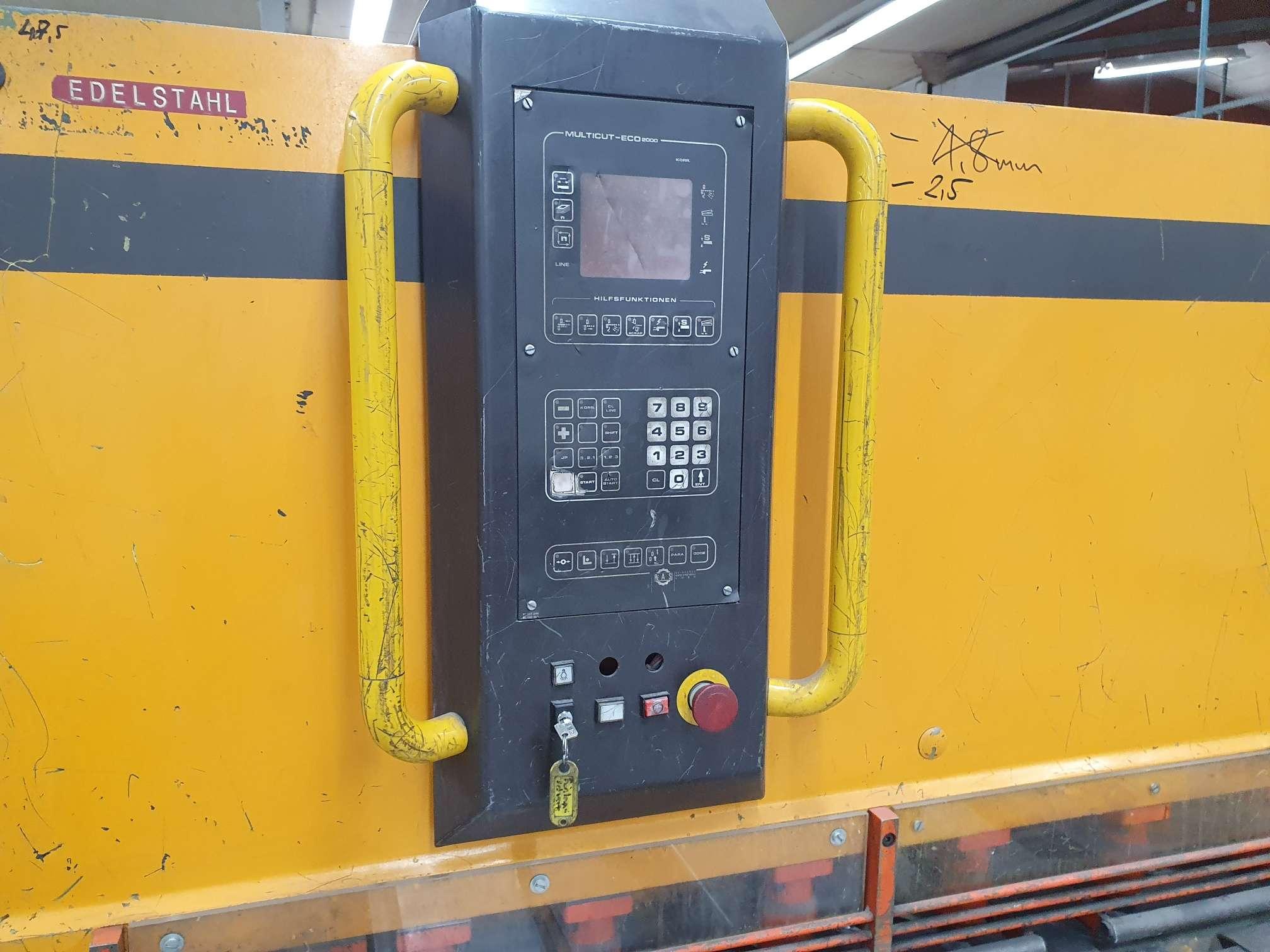 Hydraulic guillotine shear  RAS 86.30 photo on Industry-Pilot