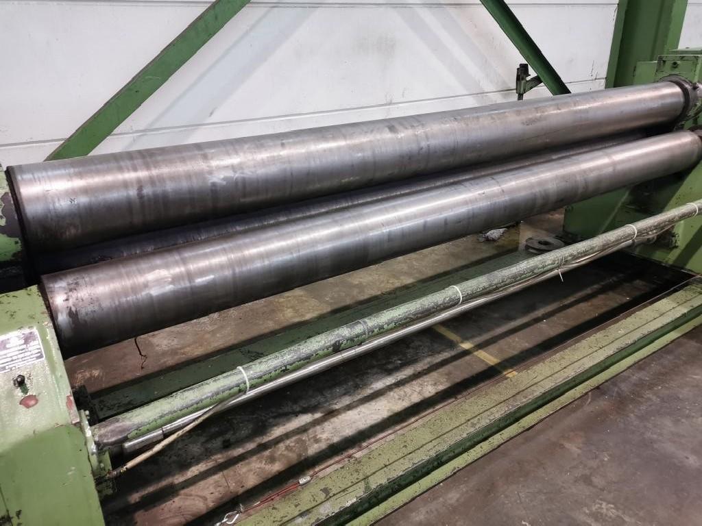 3-вальц. листогибочная машина KRAMER RSeOII 3000/225 фото на Industry-Pilot