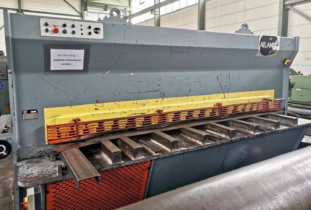 Гидравлические гильотинные ножницы ATLANTIC ATS 3012 фото на Industry-Pilot