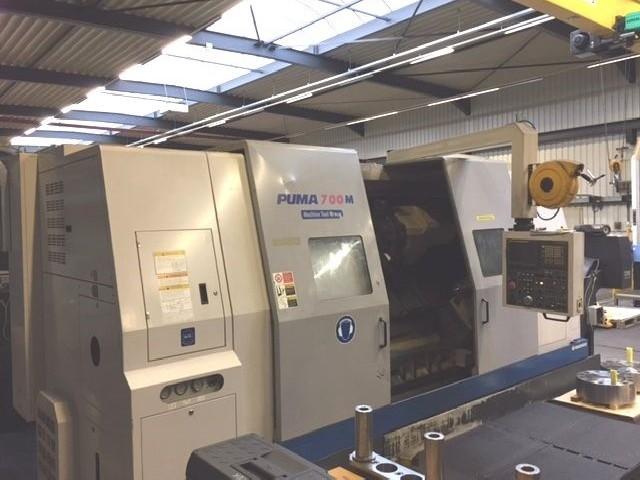 Токарно фрезерный станок с ЧПУ DOOSAN DAEWOO PUMA 700 lm фото на Industry-Pilot