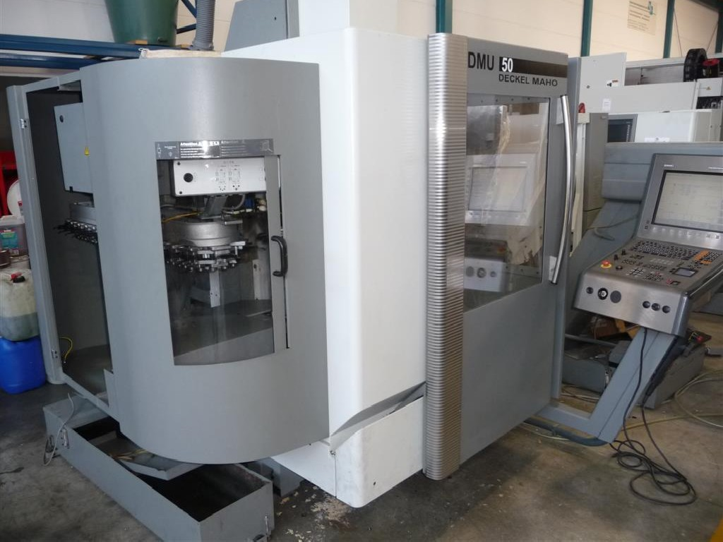 Обрабатывающий центр - универсальный DECKEL DMU 50 (3+2) фото на Industry-Pilot