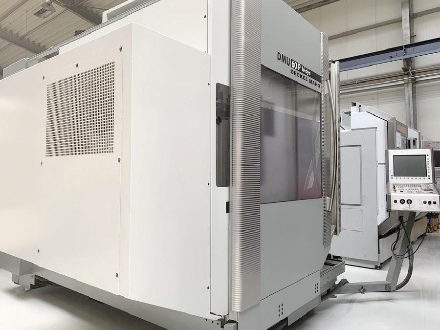 Обрабатывающий центр - универсальный DECKEL MAHO DMU 60 P hi-dyn фото на Industry-Pilot