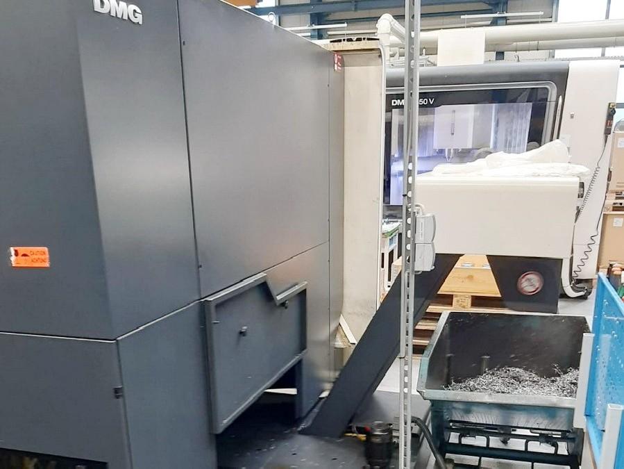 Обрабатывающий центр - универсальный DECKEL MAHO DMU 70 5 Осей (3+2) фото на Industry-Pilot
