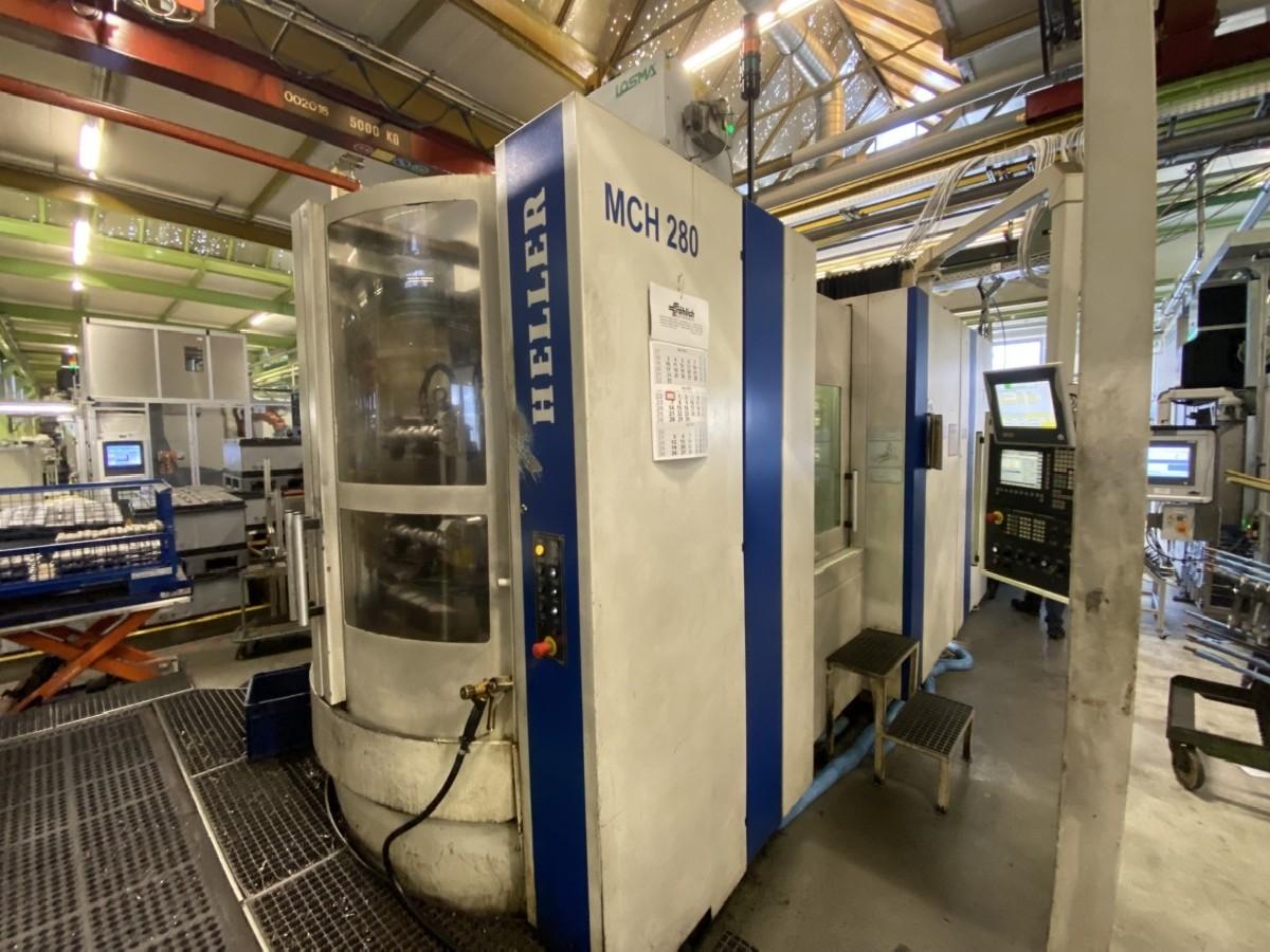 Обрабатывающий центр - горизонтальный HELLER MCH-280 фото на Industry-Pilot