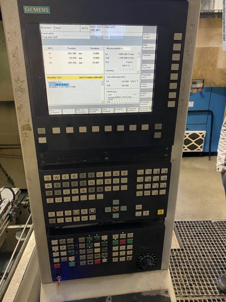 Обрабатывающий центр - горизонтальный STAMA MC536TWIN фото на Industry-Pilot