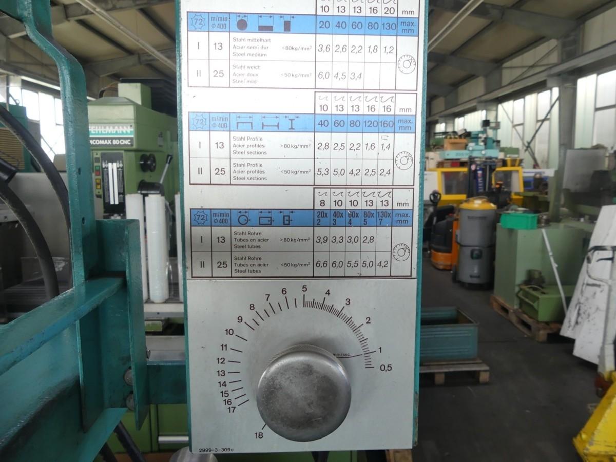 Дисковая пила для холодной резки KALTENBACH KKS 400 фото на Industry-Pilot