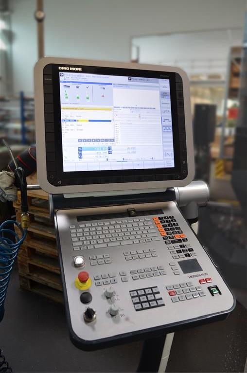 Обрабатывающий центр - универсальный DMU 60 eVo DMG Mori фото на Industry-Pilot