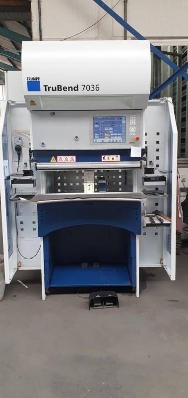 Листогибочный пресс - гидравлический TRUMPF 7036 фото на Industry-Pilot