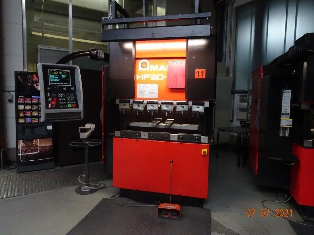 Листогибочный пресс - гидравлический AMADA HF 50-12 CNC фото на Industry-Pilot