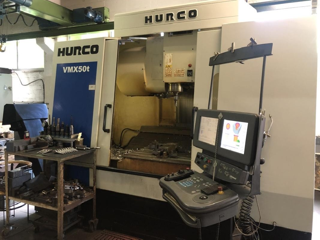 Обрабатывающий центр - вертикальный HURCO VMX 50T фото на Industry-Pilot