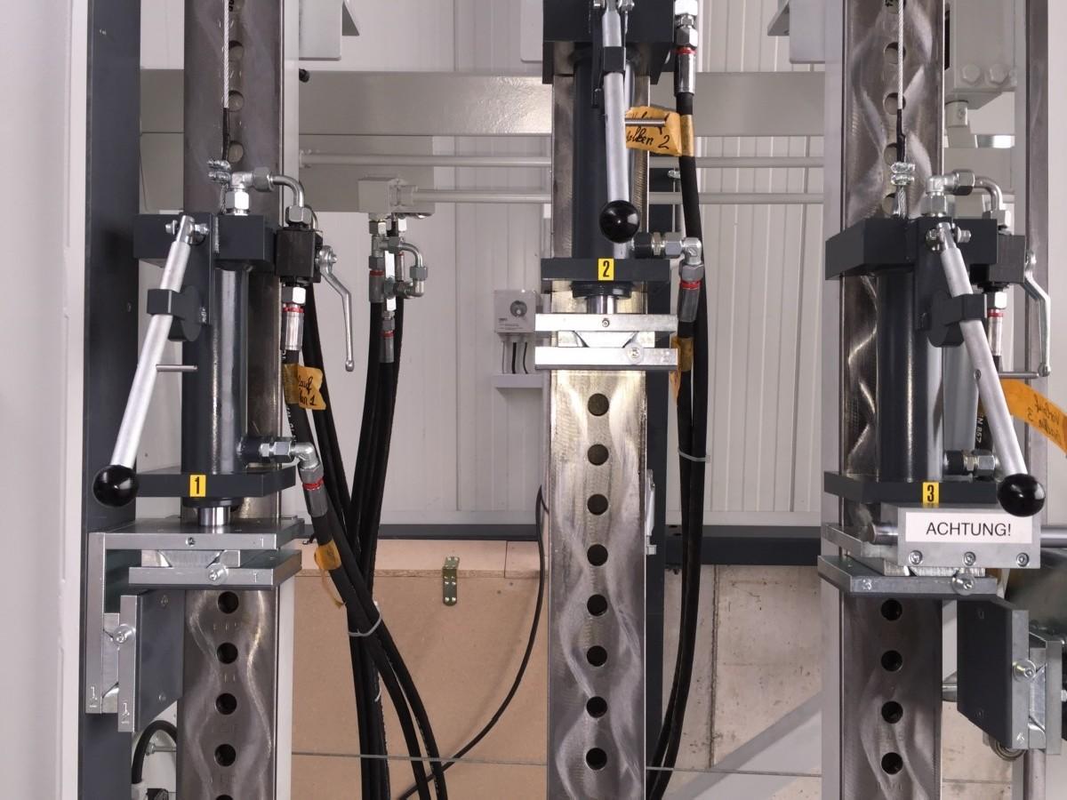 Рамный пресс S&S RP 2000 фото на Industry-Pilot