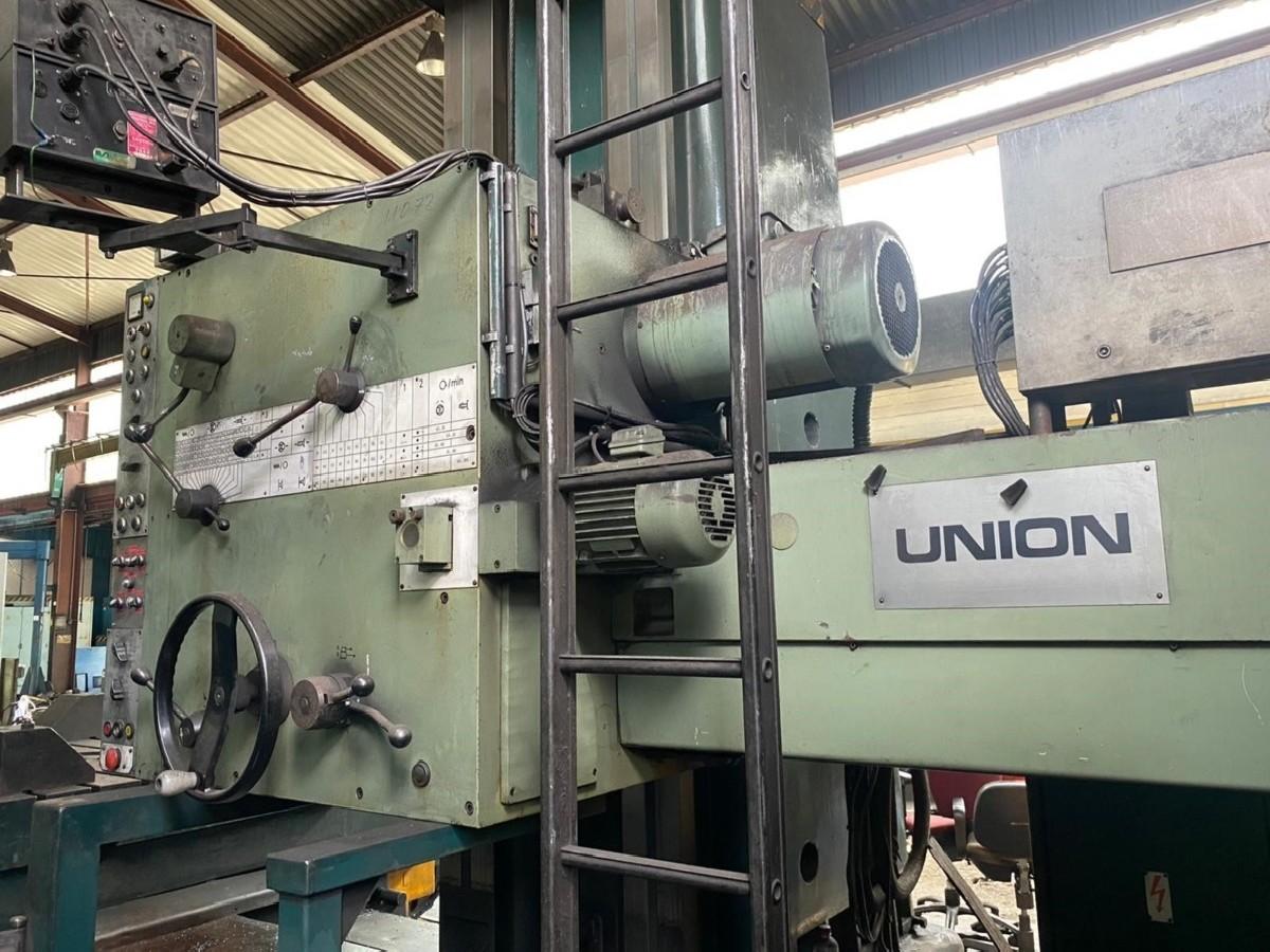 Горизонтально-расточной станок UNION BFT 125 фото на Industry-Pilot