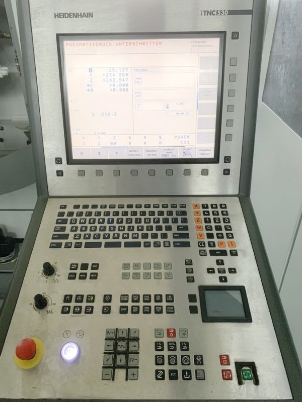 Обрабатывающий центр - универсальный DECKEL MAHO DMU 50 iTNC 530 фото на Industry-Pilot