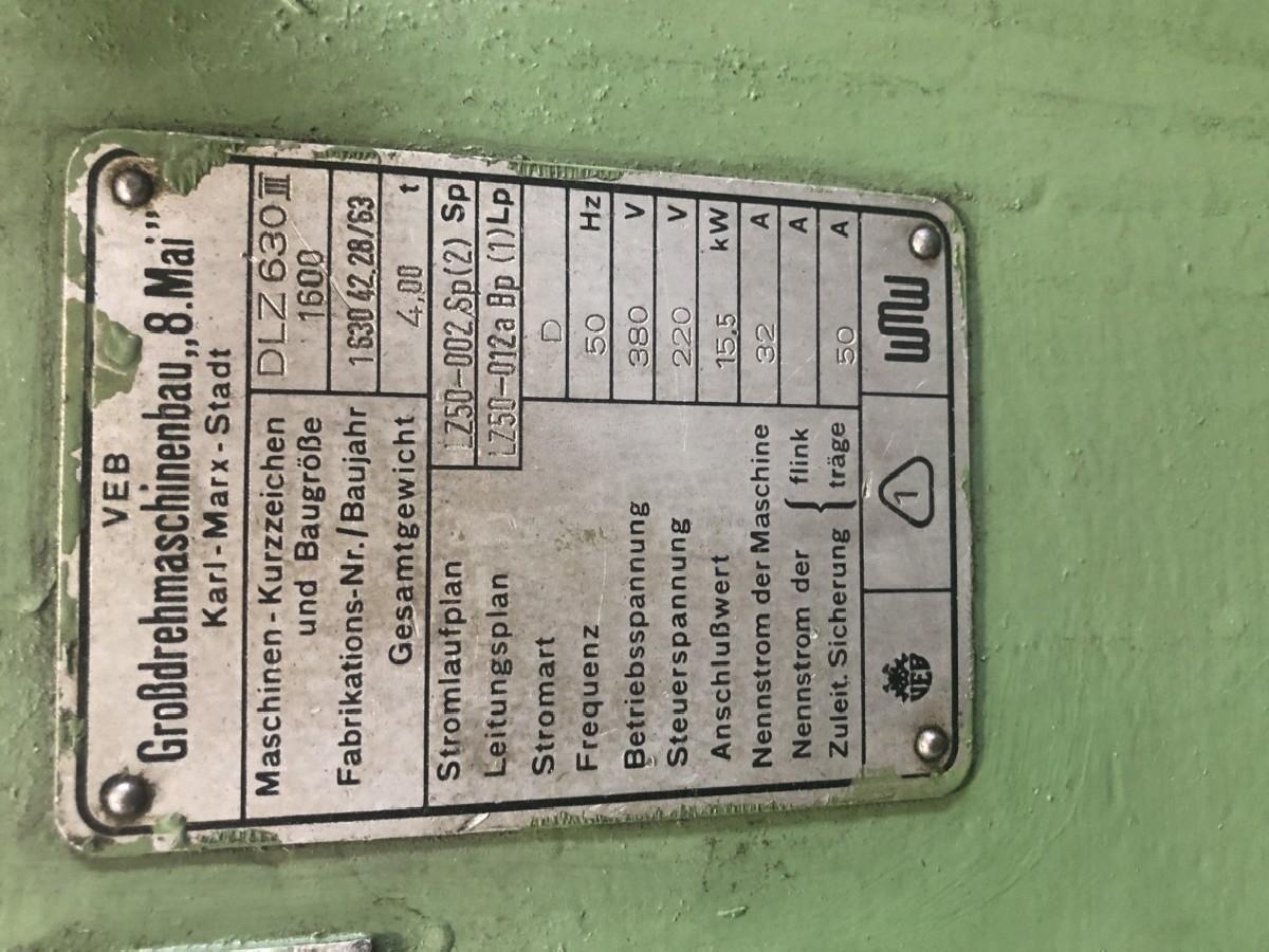 Токарно-винторезный станок WMW DLZ 630 III фото на Industry-Pilot