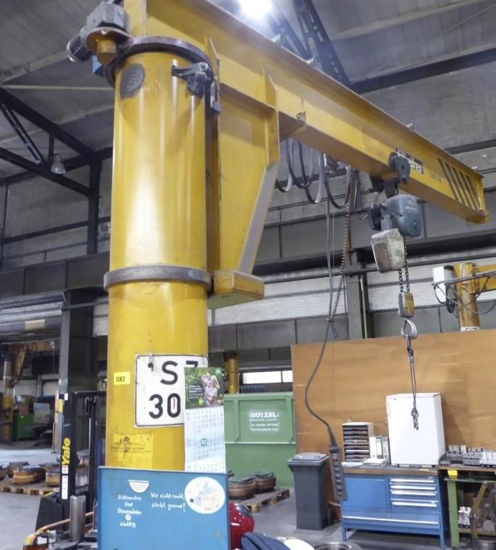 Поворотный кран на колонне PFEIFER PSE 350 фото на Industry-Pilot