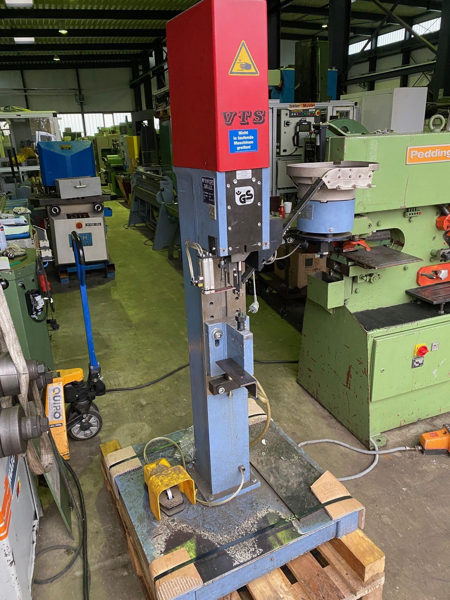 Клепальная машина VTS 120-4/100.10 фото на Industry-Pilot