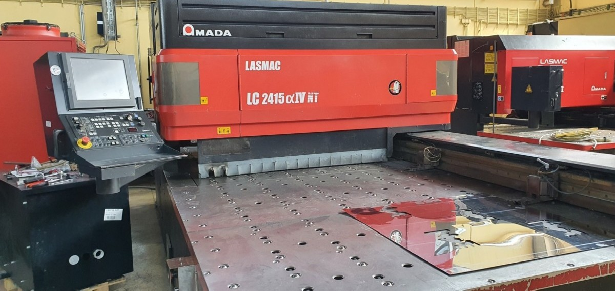 Станок лазерной резки AMADA LASMAC LC2415 Alpha IV NT фото на Industry-Pilot