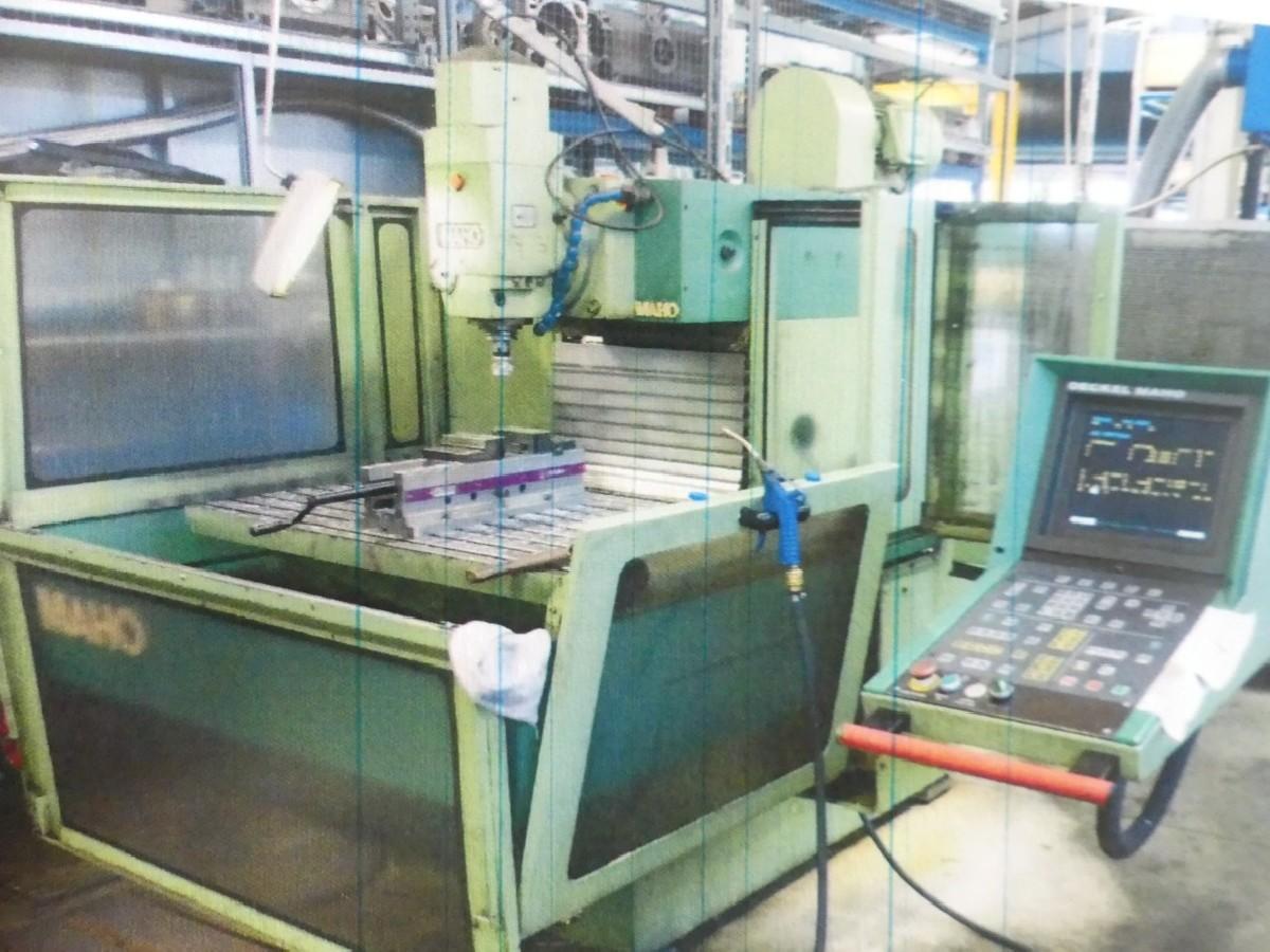 Инструментальный фрезерный станок - универс. MAHO MH 800 E фото на Industry-Pilot