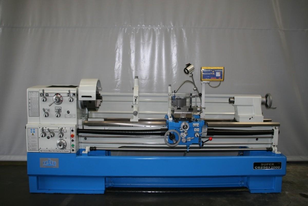 Токарно-винторезный станок ToRen C6256 x 2000 фото на Industry-Pilot