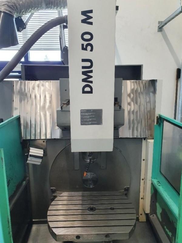 Инструментальный фрезерный станок - универс. DECKEL-MAHO DMU 50 M HEIDENHAIN фото на Industry-Pilot