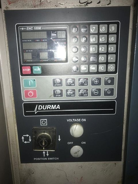 Гидравлические гильотинные ножницы DURMA ES 3006 фото на Industry-Pilot