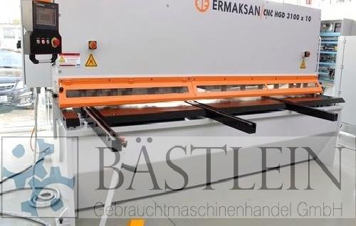Гидравлические гильотинные ножницы ERMAK CNC HGD 3100x10 HH MONO фото на Industry-Pilot