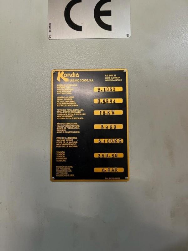 Обрабатывающий центр - вертикальный KONDIA B 1050 Heidenhain фото на Industry-Pilot