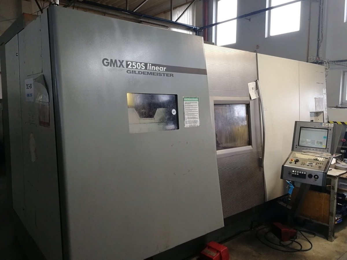 Токарно фрезерный станок с ЧПУ GILDEMEISTER GMX 250S linear фото на Industry-Pilot