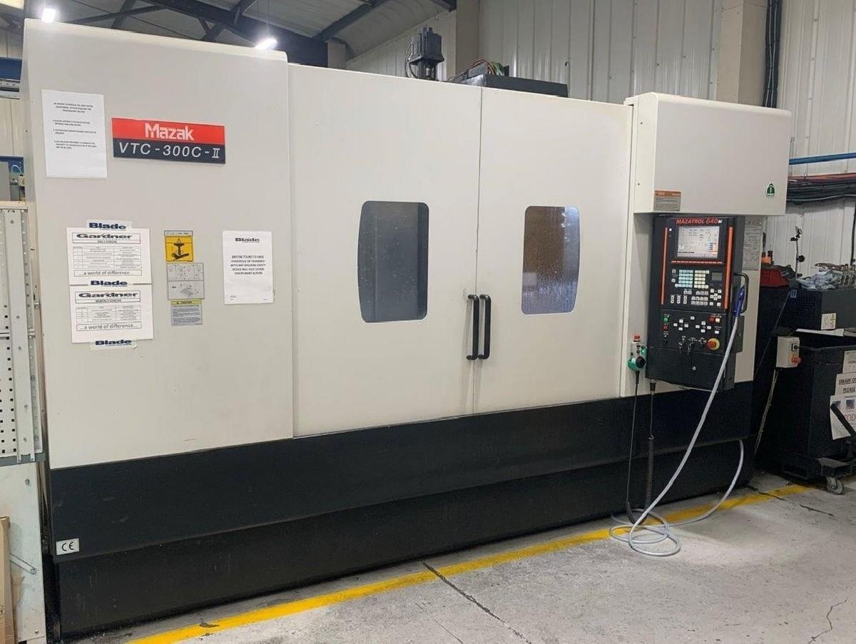 Обрабатывающий центр - вертикальный MAZAK VTC 300C-II фото на Industry-Pilot
