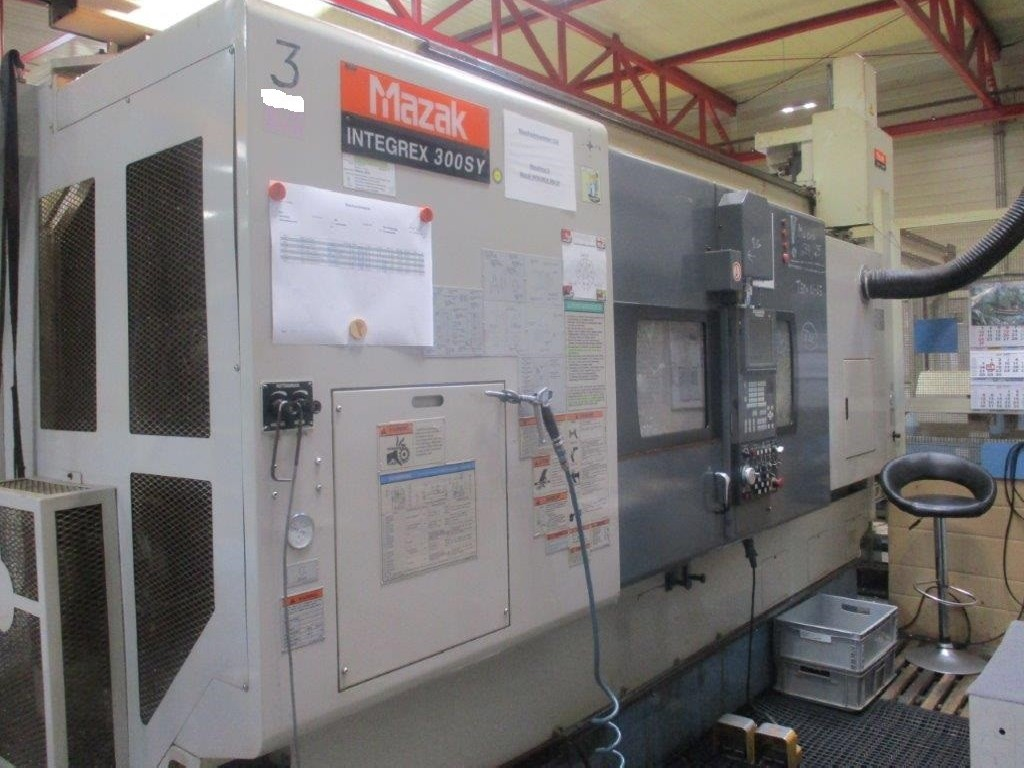 Токарно фрезерный станок с ЧПУ MAZAK Integrex 300 SY фото на Industry-Pilot