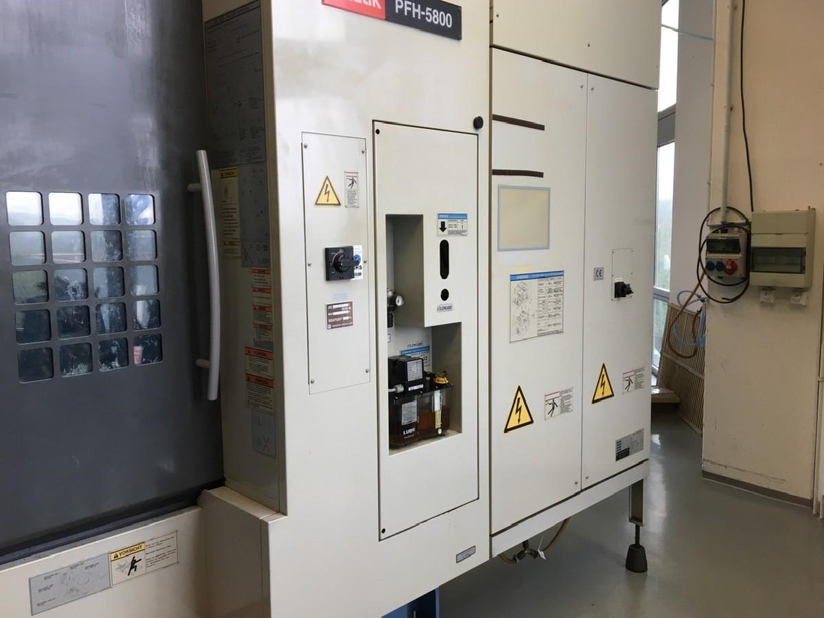 Обрабатывающий центр - горизонтальный MAZAK PFH 5800 фото на Industry-Pilot