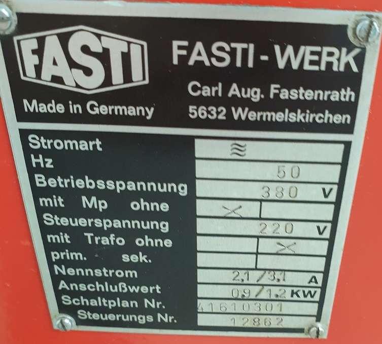 Роликовая листогибочная машина Fasti 416-2-63-1,5 фото на Industry-Pilot