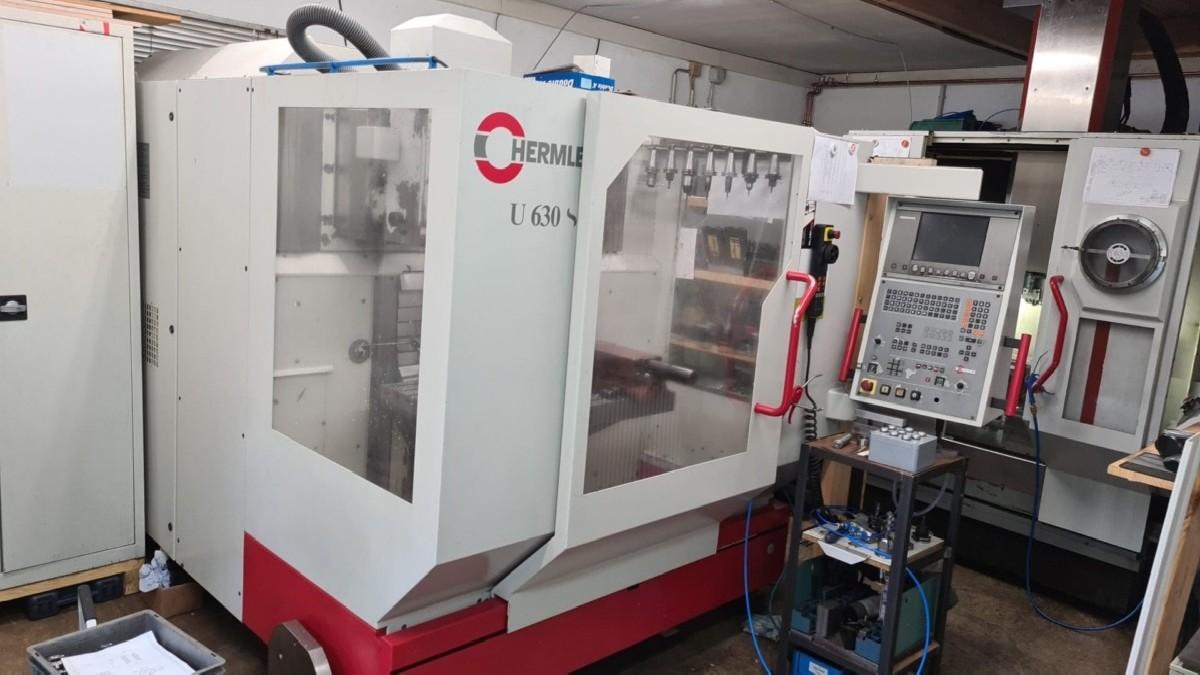 Инструментальный фрезерный станок - универс. HERMLE U 630 S фото на Industry-Pilot