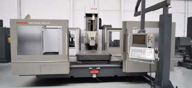 Обрабатывающий центр - вертикальный CORREA-ANAYAK Performer 2000 MG 8 фото на Industry-Pilot