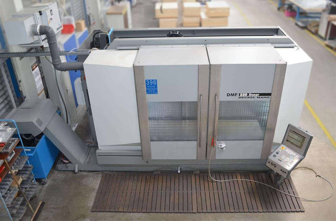 Обрабатывающий центр - вертикальный DMG DECKEL-MAHO DMF 220 linear фото на Industry-Pilot
